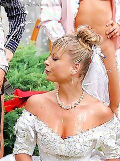 Объявляю вас мужем и женой, жених можете обоссать невесту